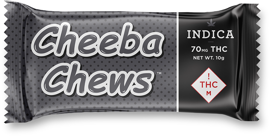 CheebaChew CO MED 70mg Indica