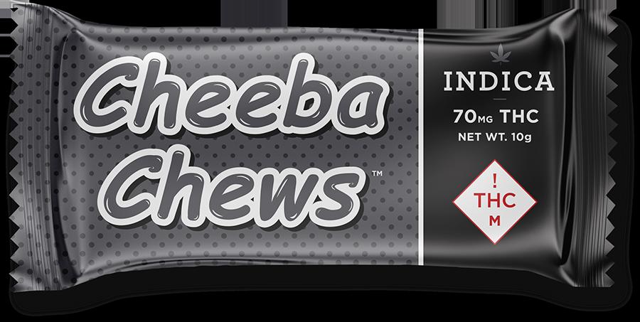 CheebaChew CO MED 70mg Indica