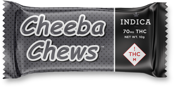 Cheeba Chews Indica 70mg/ 100mg Review | More Than Buds