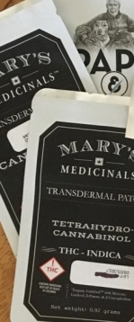 Mary's TD Patches