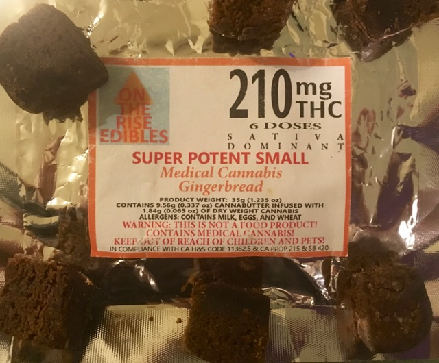 On The Rise 210mg Gingerbread