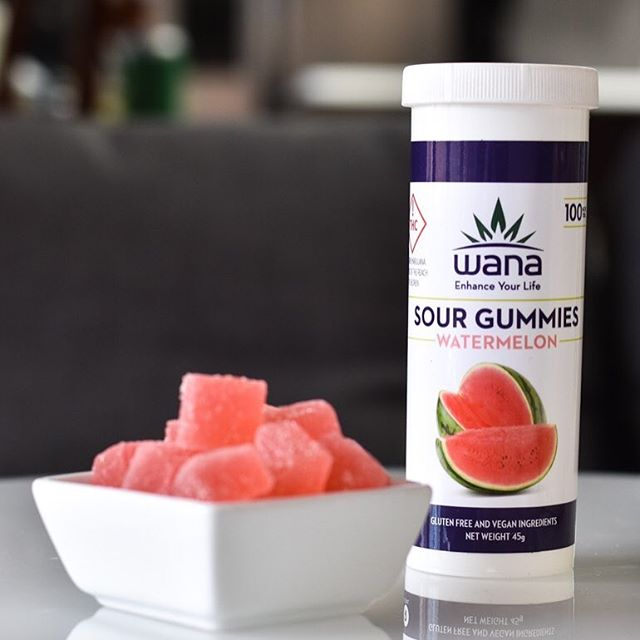 Wana Gummies Watermelon