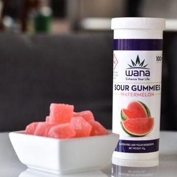 Wana Gummies Watermelon