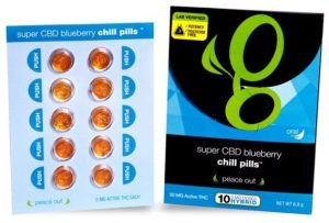 Super CBD Blueberry Chill Pills Review   More Than Buds