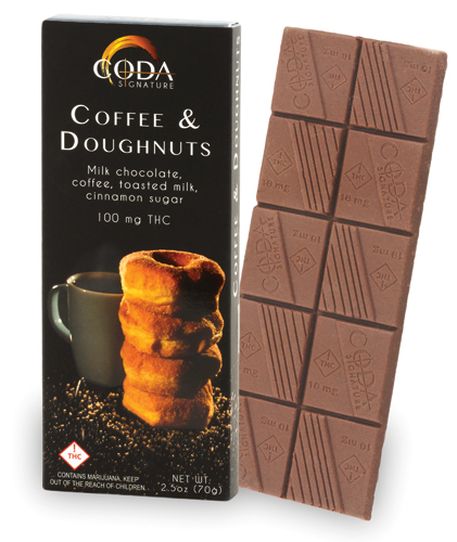 Coda Coffee & Doughnuts Bar 100mg
