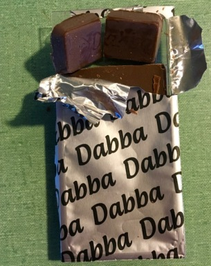 Cannabis edible in a chocolate bar! Marijuana
