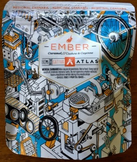 Ember edible package front