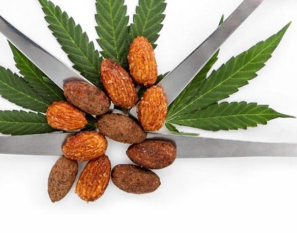 ZENDO EDIBLES Almonds