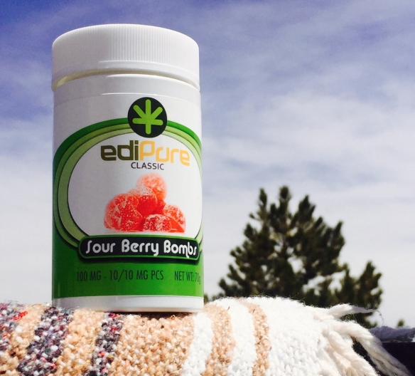 EdiPure Sour Berry Bombs