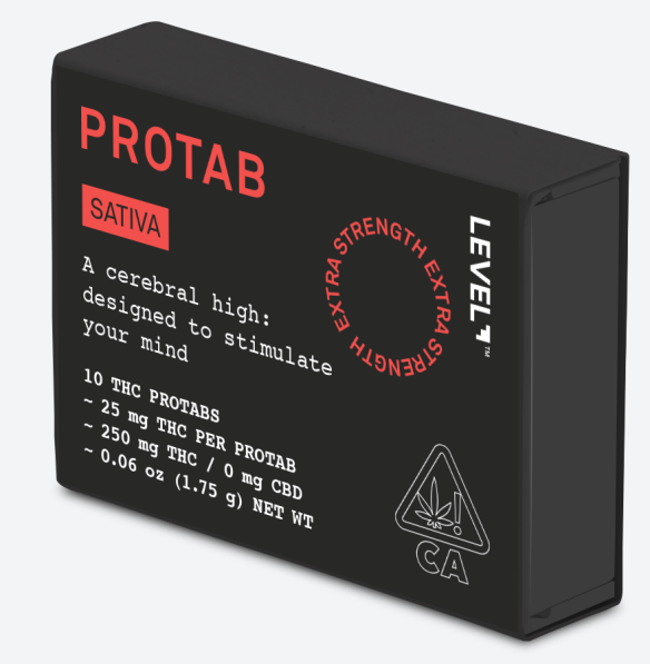 LEVEL PROTABS SATIVA Cannabis THC ProTabs