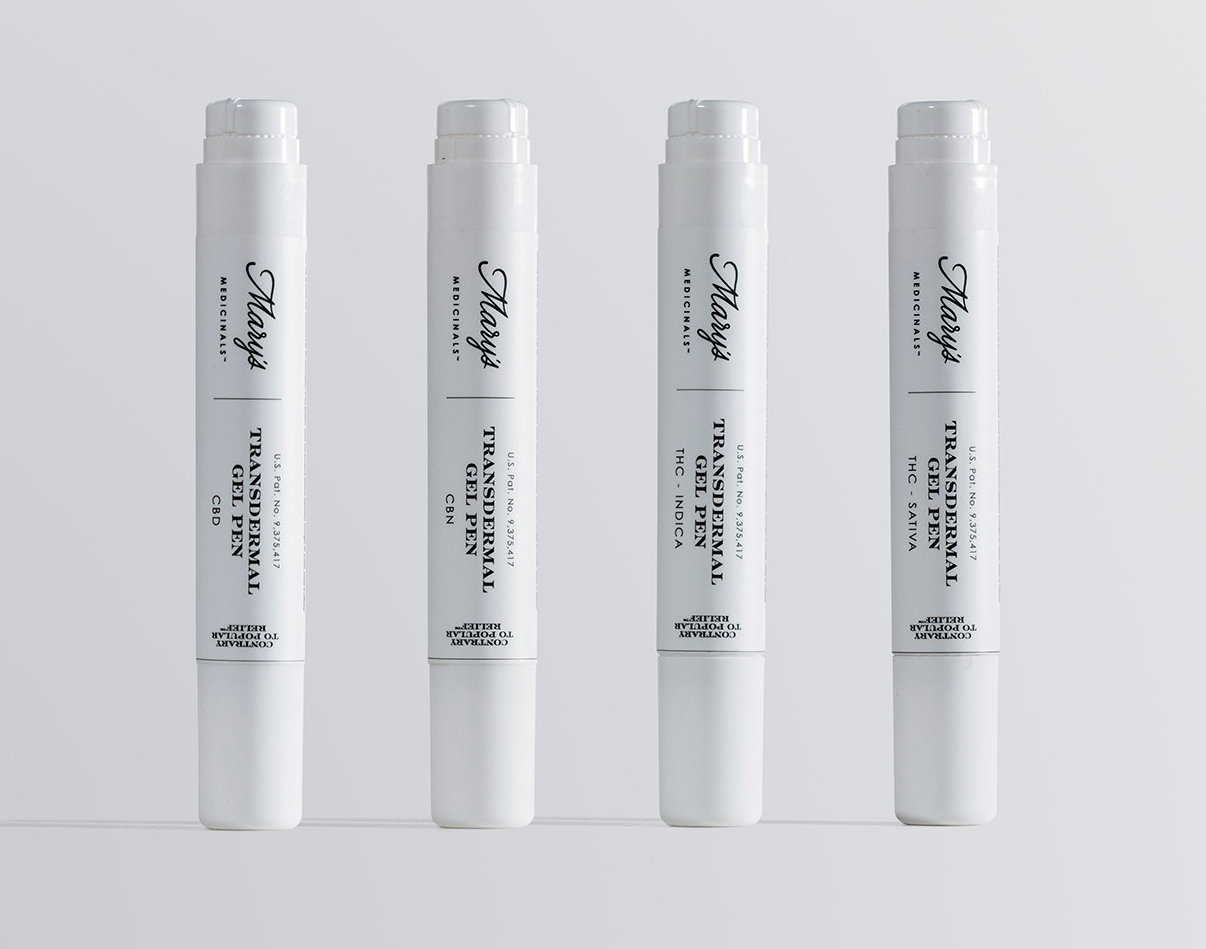 Mary's Medicinals Transdermal Gel Pens