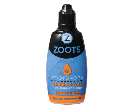 ZootDrops Cannabis-Infused High Energy Sativa Blend Mandarin Lime flavor