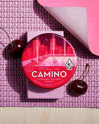Kiva Camino Excite Cannabis Infused Gummies Red Tin